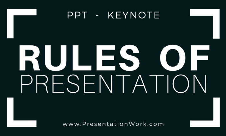 Photo of 9 Rules of Presentation Making: 10/20/30 Rule, 5×5 Rule, 6×6 Rule, 7×7 Rule
