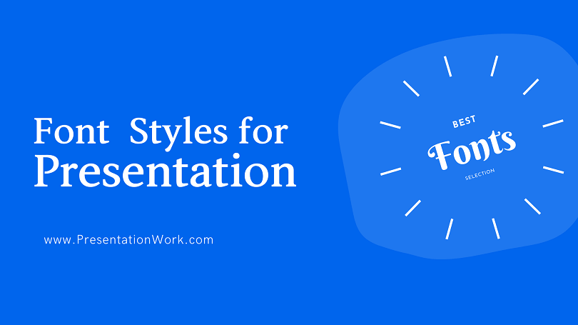 Best Font Styles for Presentation 10 Font Styles Widely used for Professional and investor Presentation Decks