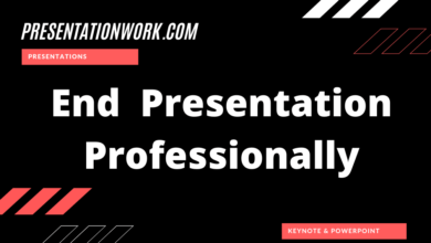 Photo of End Presentation Professionally: Modern and Professional Way of Finishing a Presentation