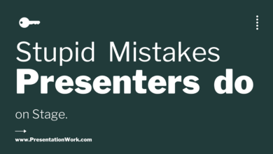 Photo of 9 Stupid Things that Presenters do on Stage while their Presentations – Presentation Skills